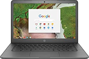 "2018 HP 14 Chromebook 14"" HD Touchscreen Widescreen Laptop Computer, Intel Celeron N3350 up to 2.4GHz, 4GB Memory, 32GB eMMC Flash Memory, 802.11ac, Bluetooth, USB-C 3.1, No Optical Drive, Chrome OS"