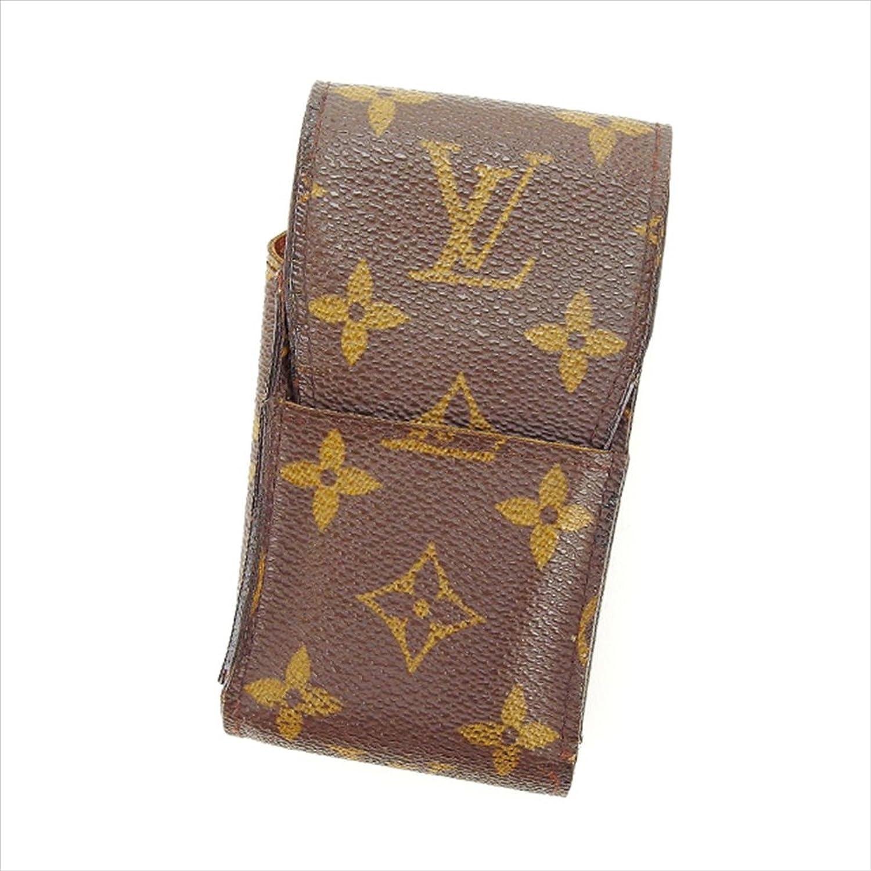 [ルイヴィトン] Louis Vuitton シガレットケース タバコケース メンズ可 エテュイシガレット M63024 モノグラム 中古 Y3296 B0772Q4V18