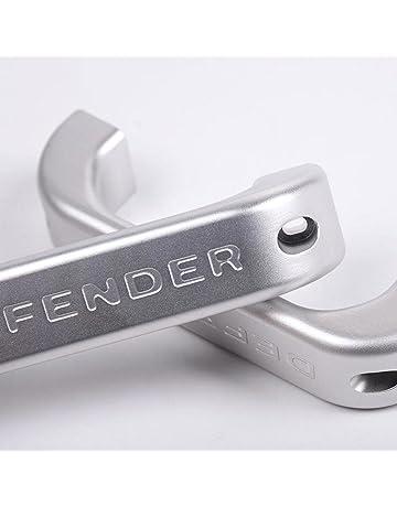 Para Defender 110 90 para interior de coche aleación de aluminio cromado mate tirador de puerta