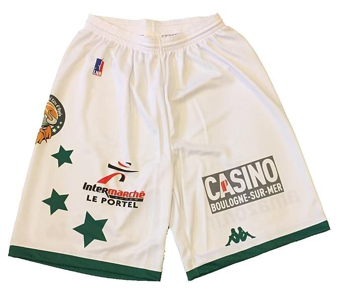 Kappa Baloncesto essm Le Portel Oficial hogar - Pantalones Cortos ...