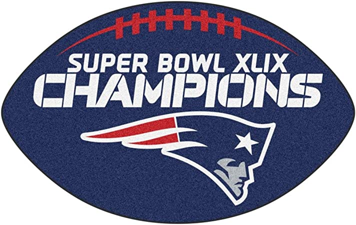 D H Nfl Superbowl Li Champion New England Patriots Themed Area Rug The Pats Super Bowl 51 Football Team Spirit Winner Carpet Ne Patriot Sports Logo Fan Merchandise Navy Blue Red Grey White