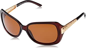 TFL Butterfly Sunglasses for Women - Brown Lens, P02664-320-90-1