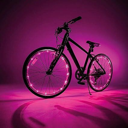Caprican JML - Luces LED para Rueda de Bicicleta y Marco (2 Unidades, 2