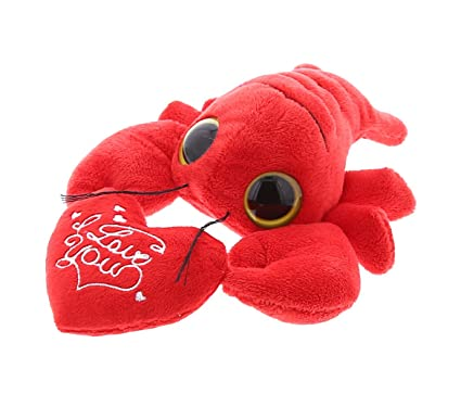 Amazon Com Dollibu Cute Stylish Small Red Lobster I Love You