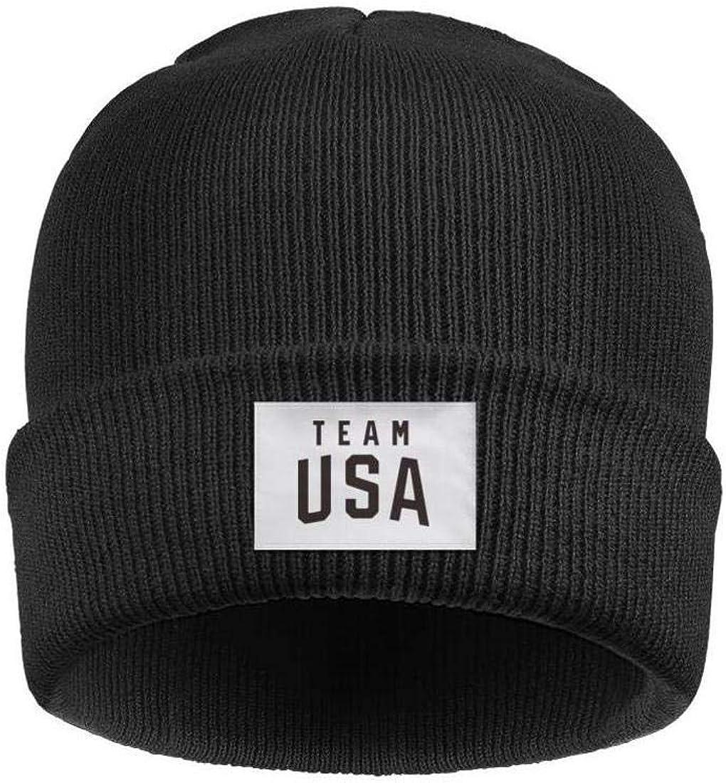 Just Hiker Beanie Skull Hats Soccer Pattern for Men Women Unisex Soft Slouchy Ski Cuffed Plain