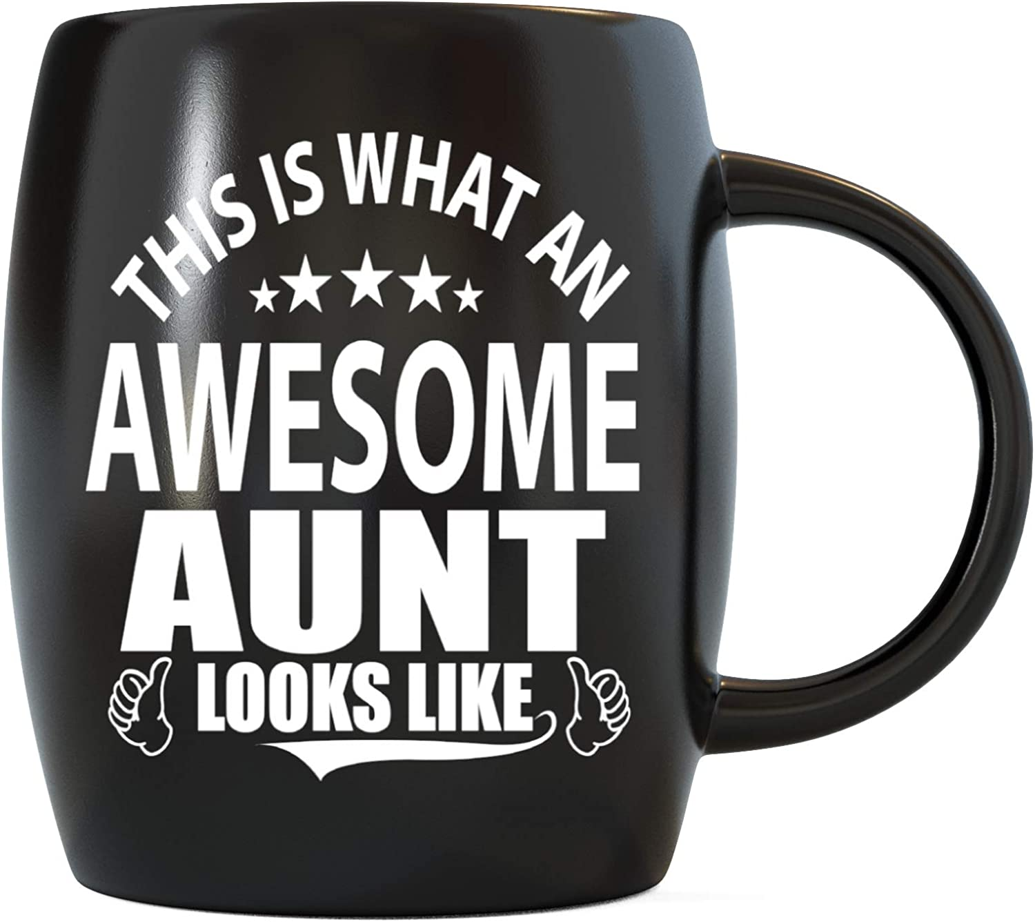 Mother's Day Gifts Best Aunt Ever This Is What An Awesome Aunt Looks Like Funny Christmas Birthday Novelty Gag Gift Idea from Niece Nephew World's Greatest Coolest Auntie Ceramic Coffee Mug Tea Cup