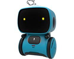 GILOBABY Robot Toys, STEM Toys Talking Interactive Voice Controlled Touch Sensor Smart Robotics with Singing, Dancing, Repeat