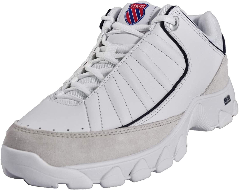 K-Swiss St529 Heritage Hombre Zapatillas Blanco: Amazon.es: Zapatos y complementos