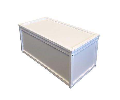 MaderaColor Blanco JuguetesCon Guardar Caja De Para Un Diseño 4LAR53j