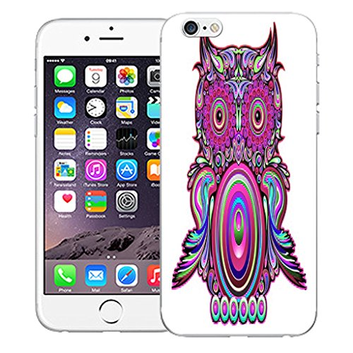 "Mobile Case Mate iPhone 6 Plus 5.5"" Silicone Coque couverture case cover Pare-chocs + STYLET - Clockwork Owl pattern (SILICON)"