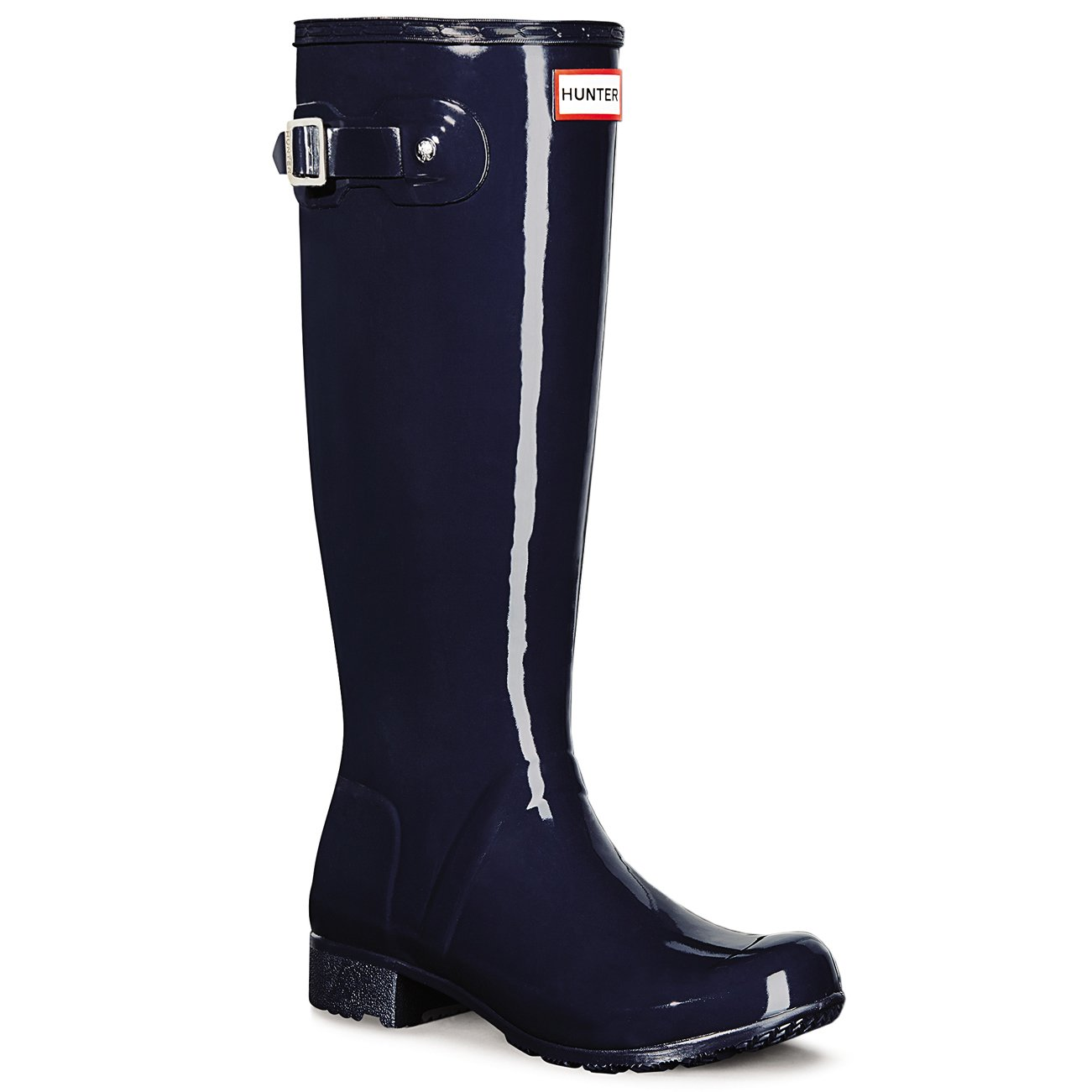 Hunter Womens Original Tour Gloss B00WPSZFEQ 10 B(M) US|Navy