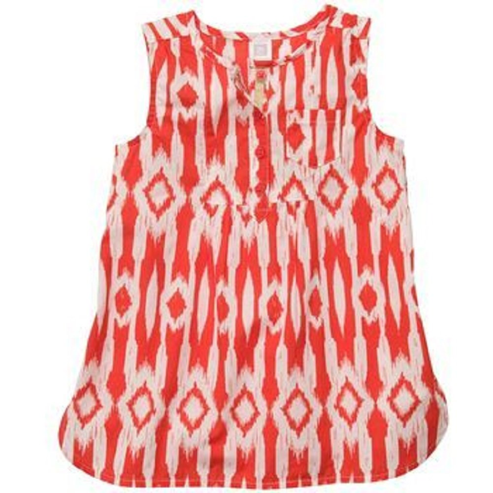 6 Months, Red Carters Girls Geo Print Tunic Top