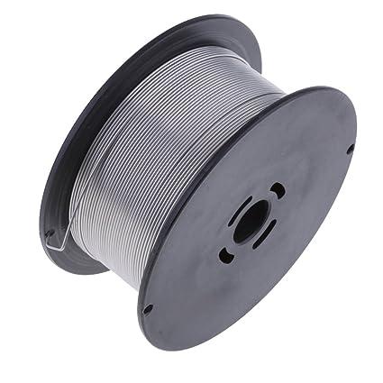 D DOLITY 1 Rollo de Hilo de Soldadura Mig (1 kg) Cable Mig sin gas ...