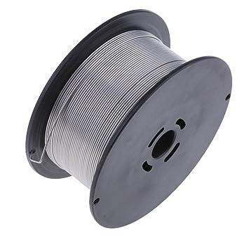 D DOLITY 1 Rollo de Hilo de Soldadura Mig (1 kg) Cable Mig sin gas de uso General para Soldadura Electrónica - Plata-1.0mm: Amazon.es: Bricolaje y ...