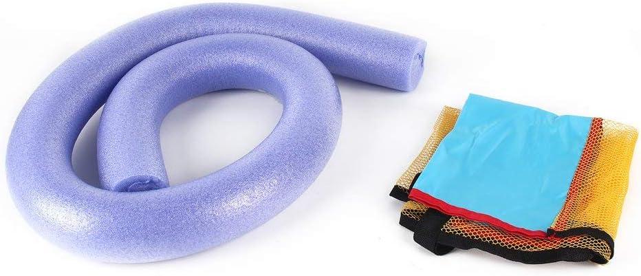 6,5 x 150 cm Violet Chaise flottante universelle DGdolph pour piscine Super flottabilit/é