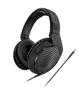 Sennheiser HD 200 PRO Studio Headphones - Noise Reducing, Closed, Around-Ear powerful for every monitoring. Mixing at home, studio or during live events.