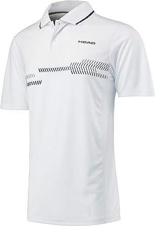 Head Camiseta técnica Tipo Polo, para Hombre: Amazon.es: Deportes ...
