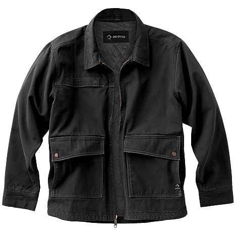 Dri-Duck Men's 5069 Flint Jacket, Black, Small