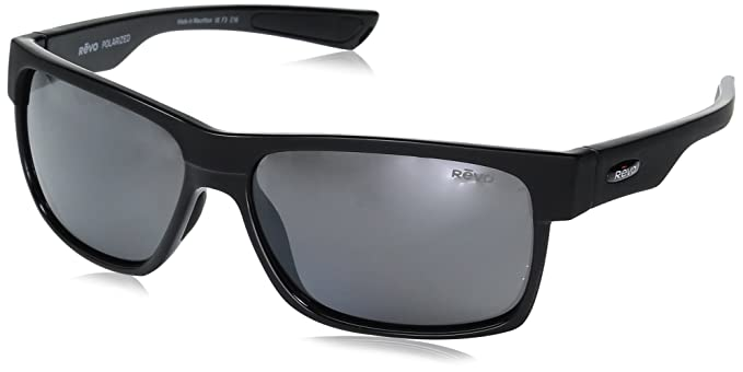 a53a542668 Revo Unisex RE 5011X Camden Rectangular Polarized UV Protection Sunglasses
