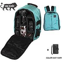 Brain Freezer Nylon, Polyester Made J DSLR/SLR Camera Lens Shoulder Turquoise Backpack Case for Canon Nikon Sigma Olympus Camera
