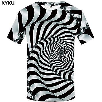Hombres Camisetas Divertidas Camiseta Smoke Colorida Smoking Kyku TPkuwXZiO