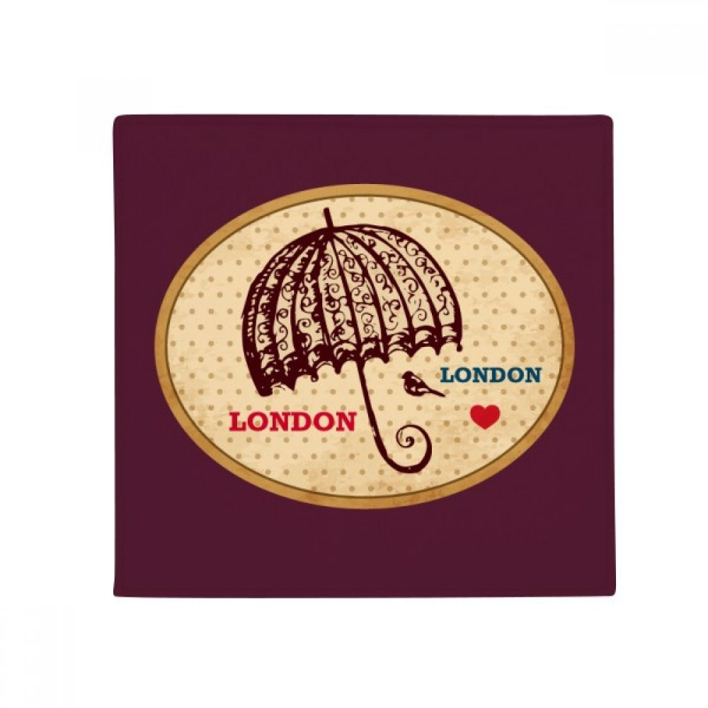 DIYthinker UK London Umbrella Stamp British Anti-Slip Floor Pet Mat Square Home Kitchen Door 80Cm Gift