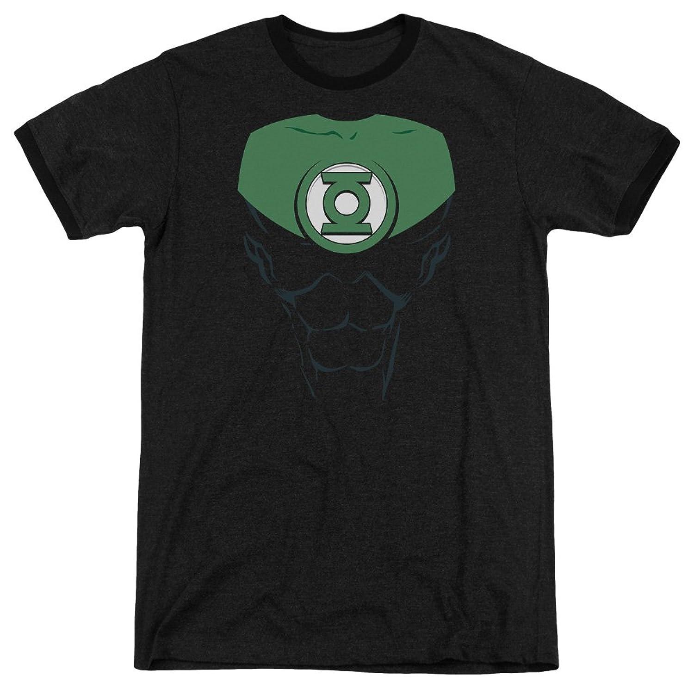 Green Lantern Men's Jon Stewart Ringer T-Shirt