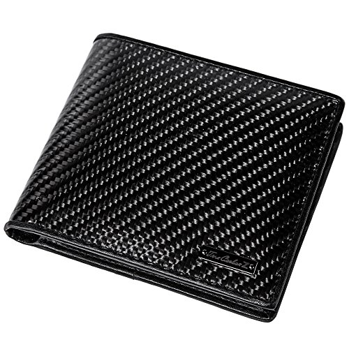 carbon fiber bifold wallet - 6