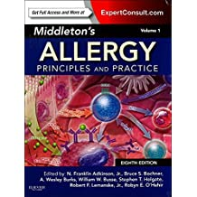 Middleton's Allergy 2-Volume Set: Principles and Practice (Expert Consult Premium Edition - Enhanced Online Features and Print), 8E