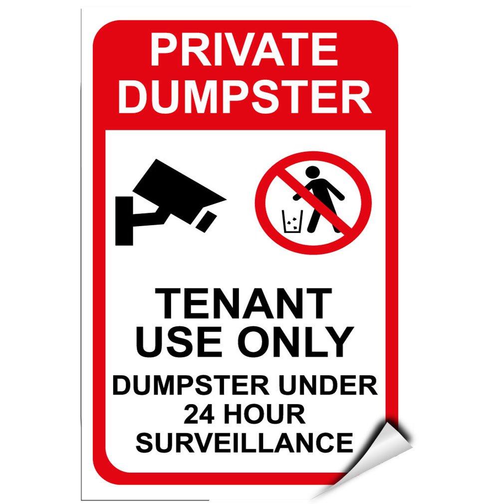 Amazon.com: Uso Privado Dumpster tenant Dumpster 24 horas de ...
