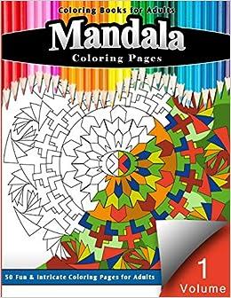 Amazon.com: Coloring Books for Adults Mandalas: Coloring ...