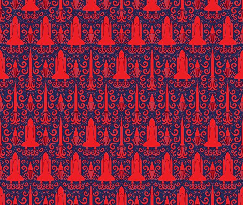 Rocket Red Fabric - 8