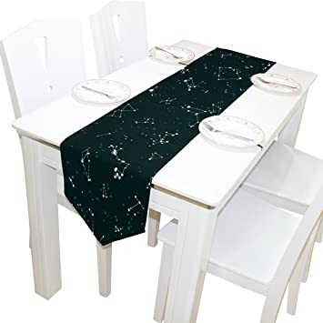 Amazoncom Yochoice Table Runner Home Decor Vintage Glow