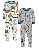 56d2c2900 Galleon - Carter s Baby Boys  2-Pack Cotton Footed Pajamas