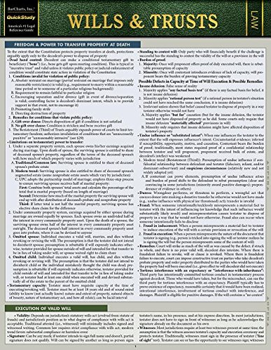 Pdf Education Wills & Trusts: A Quickstudy Laminated Law Reference & Bar Exam Study Guide