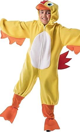 Disfraz de Pollo Amarillo Infantil G2-(8/10 años): Amazon.es ...