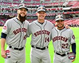 "Dallas Keuchel, A.J. Hinch, Jose Altuve Houston Astros 2015 MLB All Star Game Photo (Size: 8"" x 10"")"