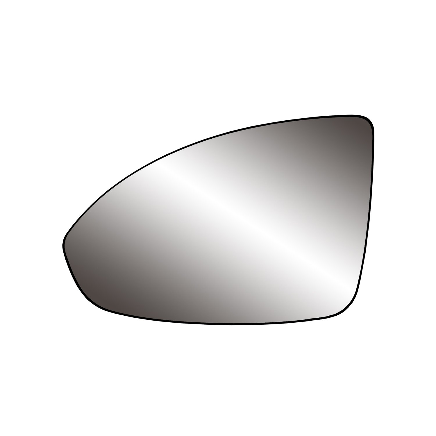 Fit System 80248 Chevrolet Cruze Right Side Manual/Power Replacement Mirror Glass with Backing Plate