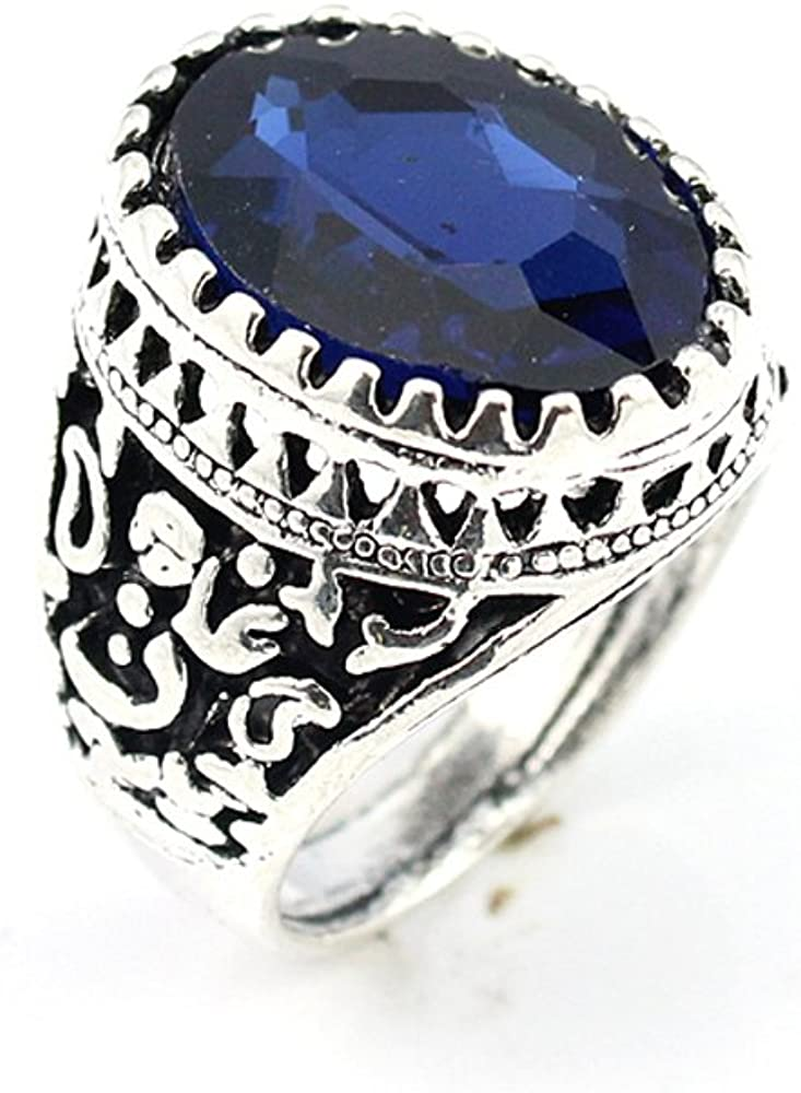 silverjewelgems Tanzanite Fashion Jewelry .925 Silver Plated Ring 10 S23060