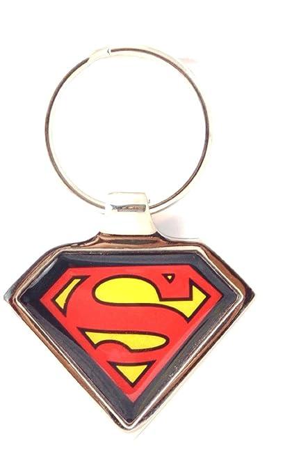 WB Superman Metal Keychain M 245 Keyrings & Keychains at amazon