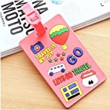 Travel Accessories Creative Luggage Tag Animal Cartoon Silica Gel Suitcase ID Addres Holder Baggage Boarding Tags Portable Label (Type-29)