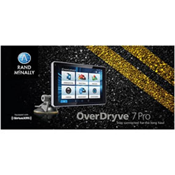 Amazon Rand McNally OverDryve TM 7 Pro Truck Navigation with