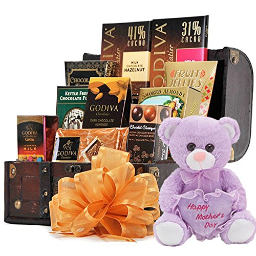 Mother's Day Chocolate Delicacy Chest Gift Basket
