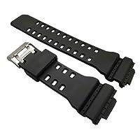ga-100gomma nera cinturino per orologio per Casio g shock GA100Generic strap