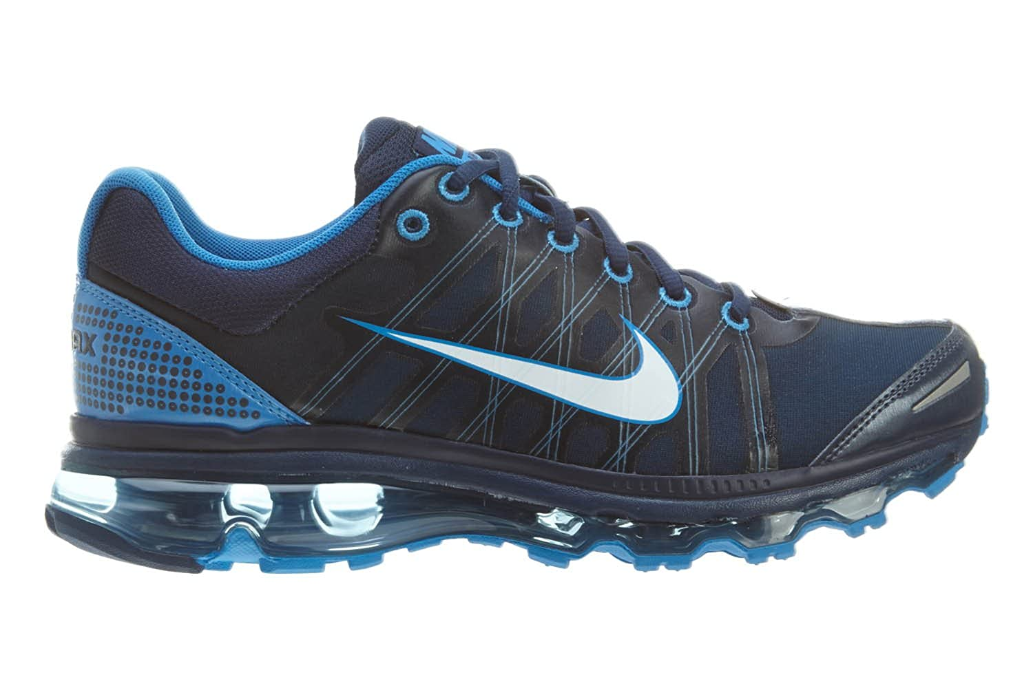 Coordinate Aquarium presume  Buy Nike Air Max 2009 Mens Running Shoes 486978-401 Midnight  Navy/White-Soar 10.5 D(M) US at Amazon.in