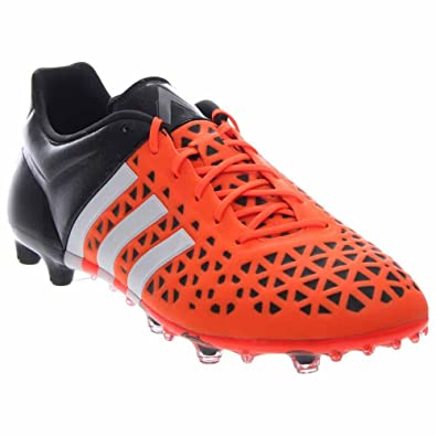 6b259c4aef42 adidas Mens Ace 15.1 FG/AG Firm Ground/Artificial Grass Soccer Cleats 7 US