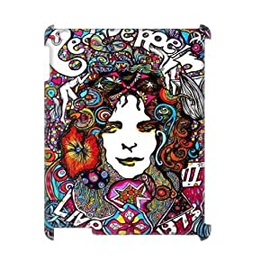 Custom 3D Case for iPad 2,iPad 3,iPad 4 w/ Led Zeppelin image at Hmh-xase (style 3)