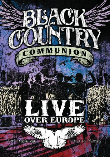 DVD : Black Country Communion - Live Over Europe (2 Disc)