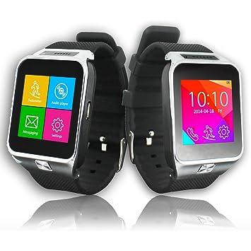Indigi® 2 en 1 interconvertible GSM + Bluetooth Smart reloj teléfono celular w/Cámara