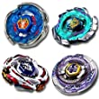 Beyblade Combo 4 Pack Storm Pegasis(Pegasus) 4D + Scythe Kronos Metal 4D + Meteo L Drago 4D + Blitz Unicorno Striker 4D // SHIPPED AND SOLD FROM US